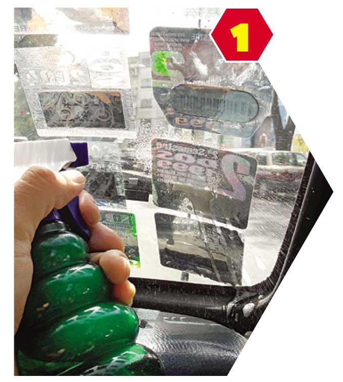 Como quitar estampas de los vidrios del coche atraccion360 - Quitar pegamento de las manos ...