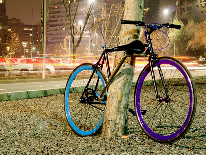Candado bicicleta irrompible