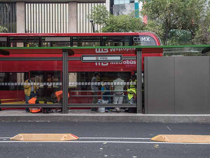 ciclovia reforma metrobus linea 7