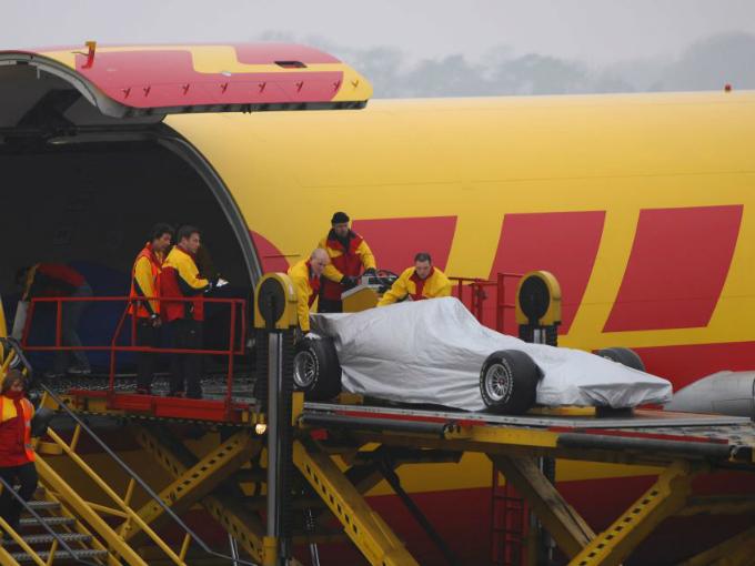 La complicada logística de la Fórmula 1