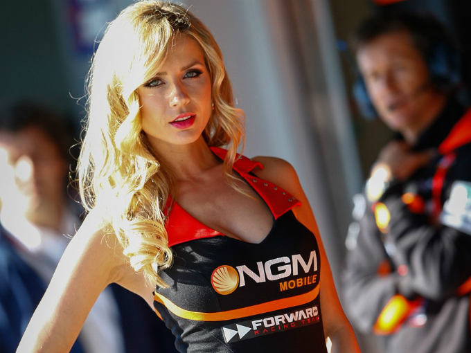 Las chicas más sexys de la MotoGP en 2013