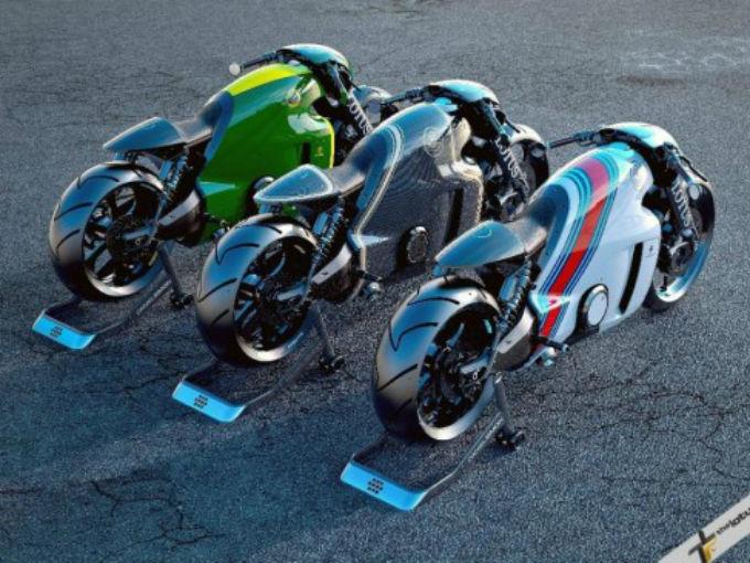 La evolución en dos ruedas de Lotus