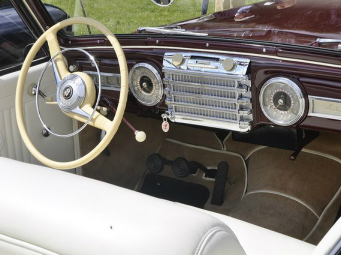 Sólo 136 descapotables fueron construidos en 1942, después la producción se detuvo y muy pocos eran propietarios de una joya automotriz cual esta. Fotos: Autos Clásicos Mexicanos Fb