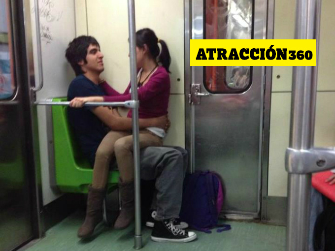 Sexo en el metro de barcelona - 1 9