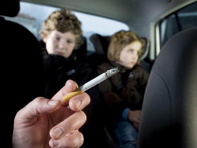 fumar auto