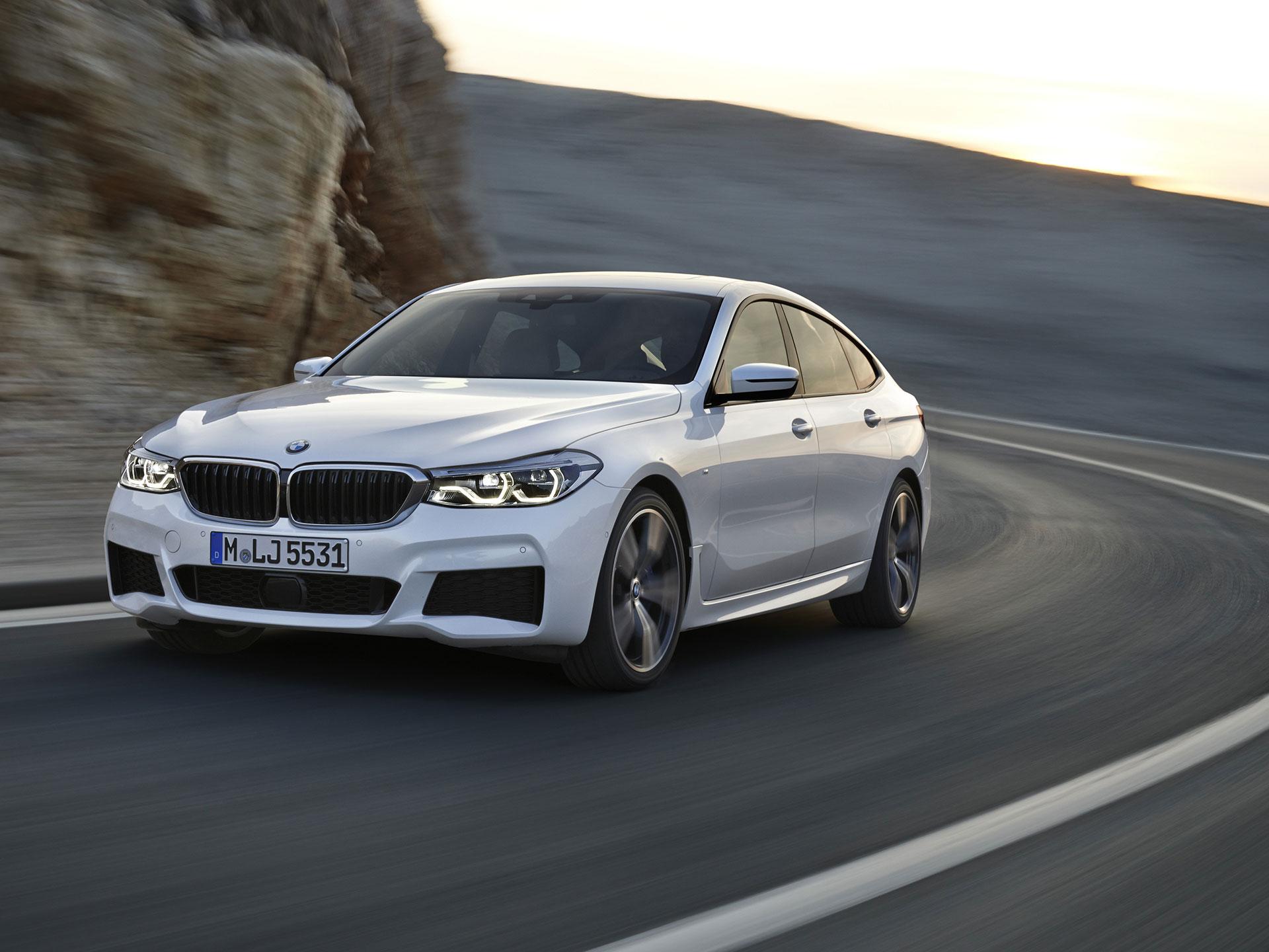 SERIE seis GRAN TURISMO. Basado en el Serie cinco Gran Turismo, éste asimismo es un lanzamiento mundial que alardea una reducción de peso, una mejora en la conducción y en la efectividad de su tren motriz. Foto: BMW