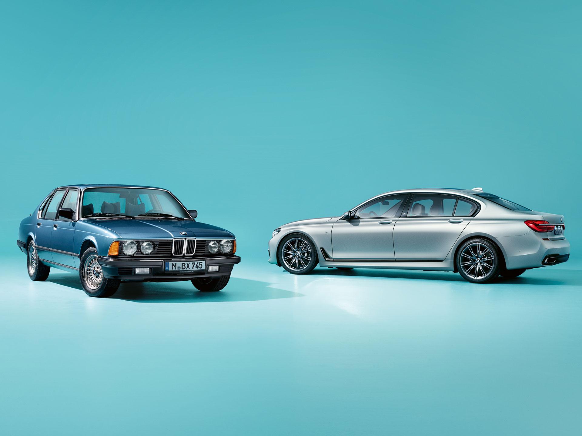 La versión singular el BMW Serie siete cuarenta Jahre alardea un acabado exclusivo y es de producción limitada. Foto: BMW