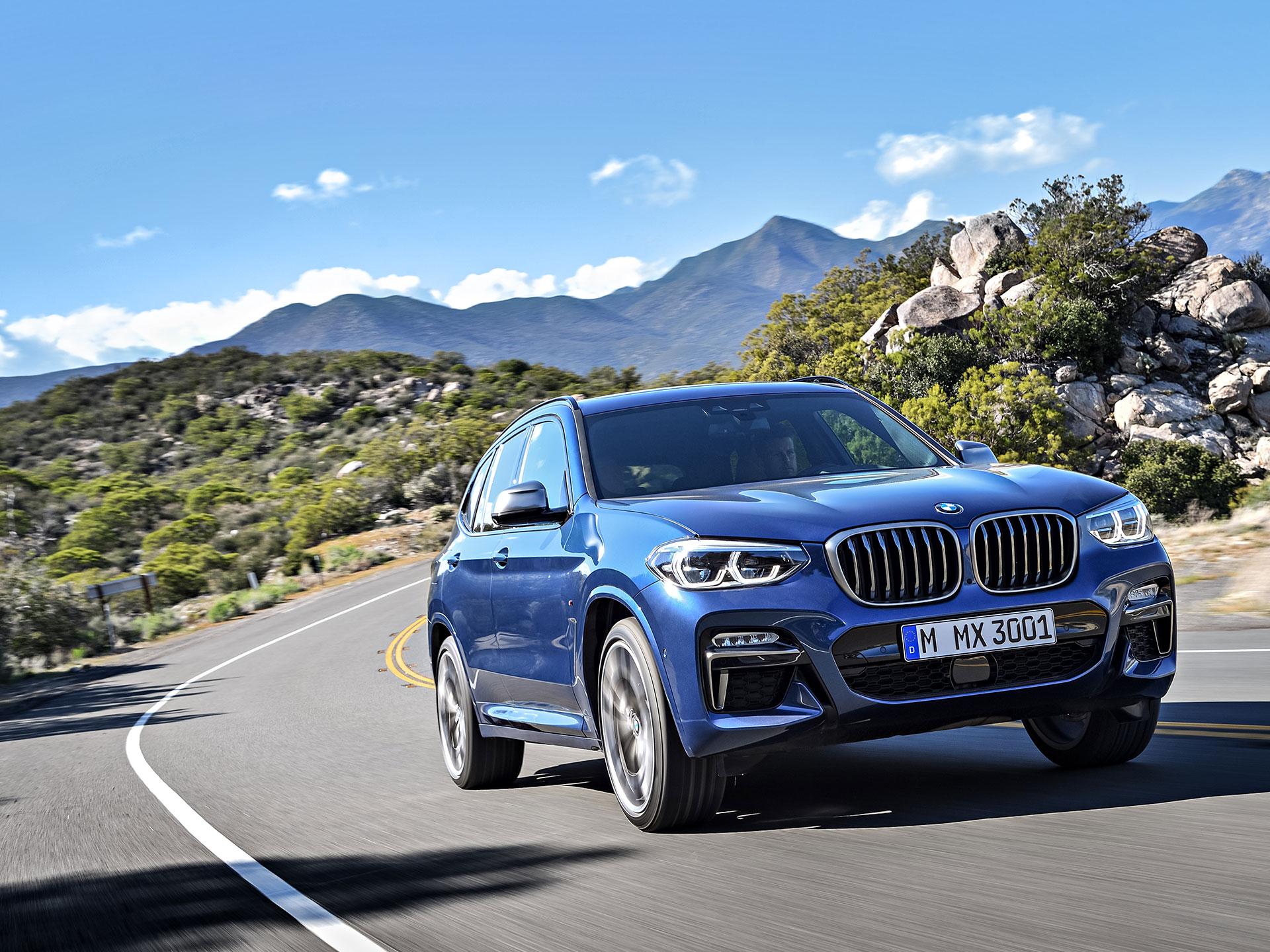 La tercera generación de la X3 asimismo se luce en el apartamento de exhibición de Frankfurt. Dentro de sus mejoras resaltan una menor altura y una mejor efectividad aerodinámica. Foto: BMW