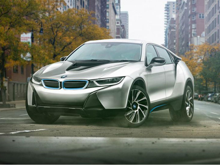 4.- BMW i8. Foto: Jennings Motor Group.