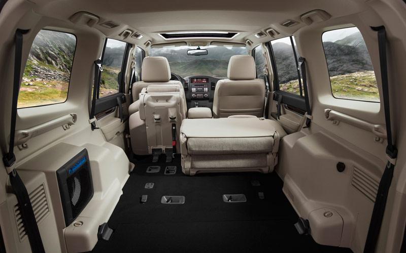 Mitsubishi montero limited precio especificaciones for Mitsubishi montero interior