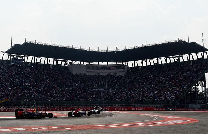 Se agotan boletos para el Gran Premio de México
