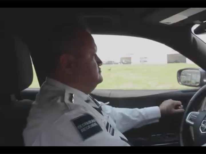 Policia federal explica por que no hacer chona challenge