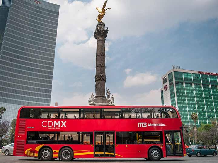 Prueba metrobus reforma Linea 7
