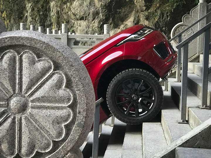 Range Rover Sport ¡TREPA el Reto del Dragón!