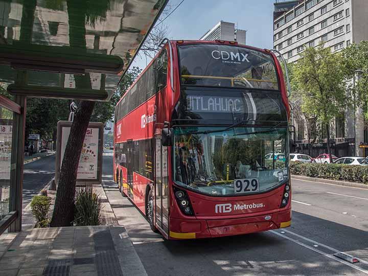 Metrobus reforma inauguracion