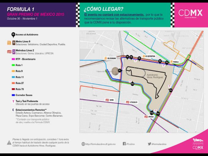 La gu a del aficionado del gp de m xico atraccion360 for Puerta 2 autodromo hermanos rodriguez