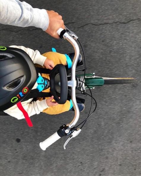 Como puedo llevar a mi bebe en bici atraccion360 - Silla bebe bicicleta delantera ...
