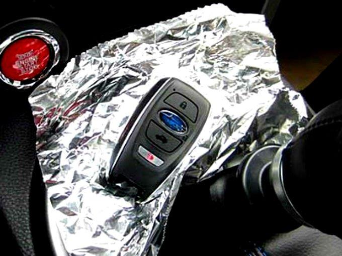 Resultado de imagen para llaves auto papel aluminio