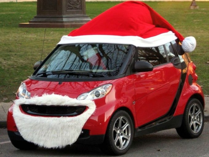Disfraces Para Autos De Navidad Atraccion360