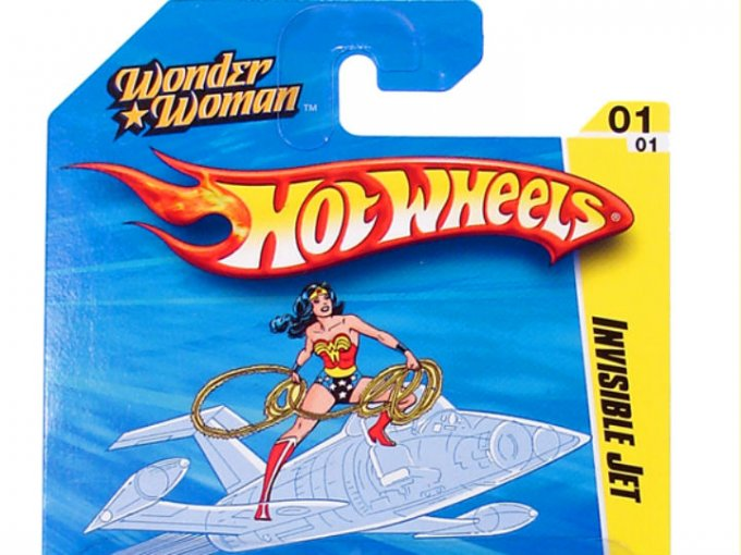 Hot wheels del invisible jet wonder woman atraccion360 - Avion hot wheels ...