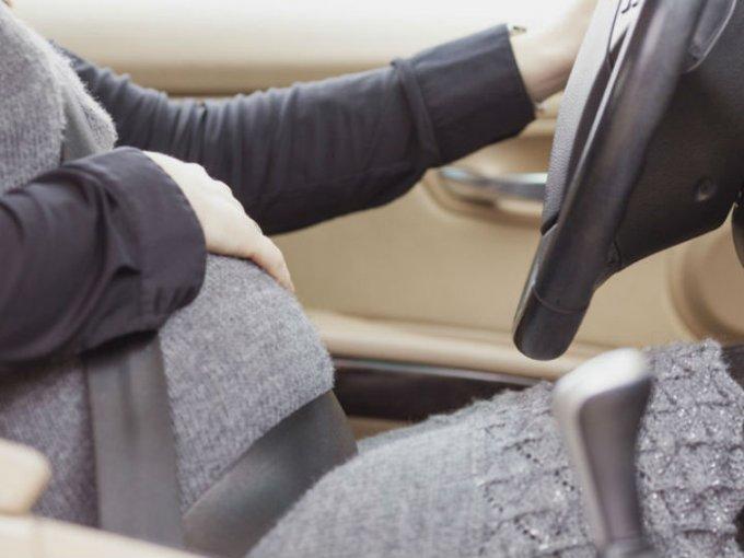 ¿Cómo debes manejar si estas embarazada?