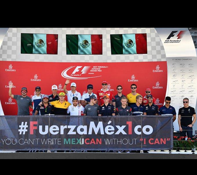 La Fórmula 1 envía su apoyo a México