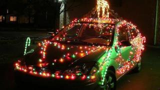 Autos Decorados Para Navidad Atraccion360