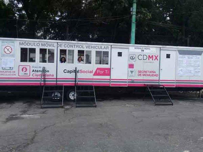 La Cdmx Agiliza Los Trámites De Control Vehicular