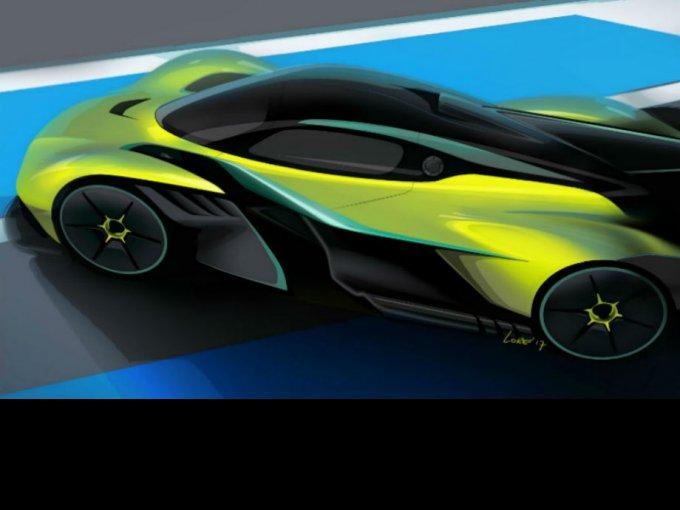 Aston Martin anticipa algo de lo que sera su hypercar apto de alcanzar los 405 km/h y competir con autos F1 FOTO: Aston Martin