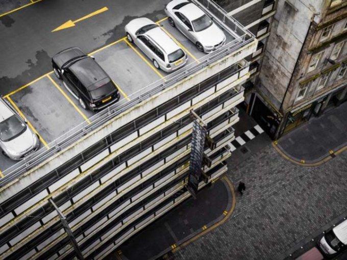 Se trataba de un Volkswagen Passat; ésto es lo que le pasó. Foto: Especial