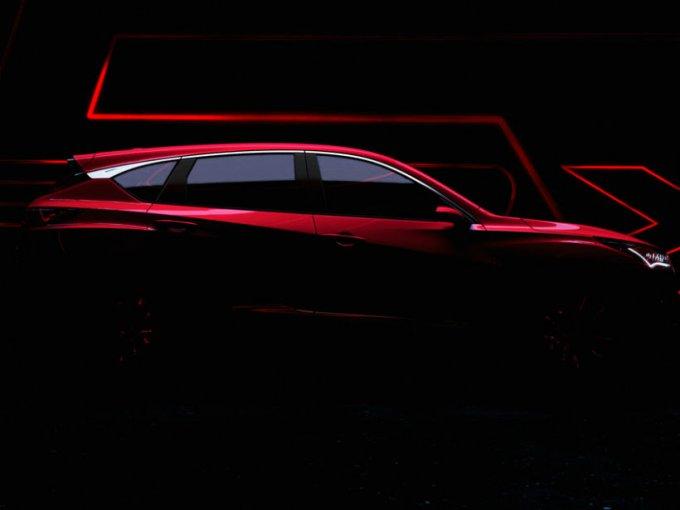 El RDX Prototype de tercera generación de Acura hará su debut mundial en la Salón Internacional del Vehículo de América del Norte (NAIAS) 2018 el cercano quince de enero.