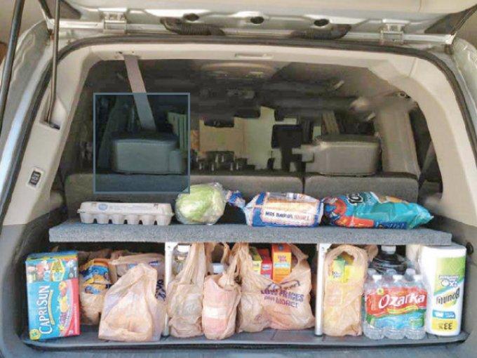 Si te tocó lleva la comida para la cena de fin de año, te afirmamos cómo transportarla de constituye segura en el auto