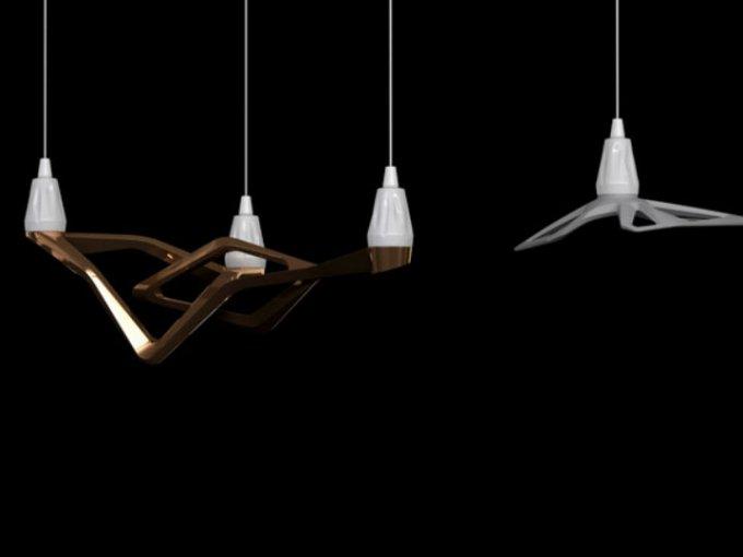 Estas lamparas colgantes están inspiradas en 001 de los concept cars más elegantes y vanguardistas de la automotriz francesa