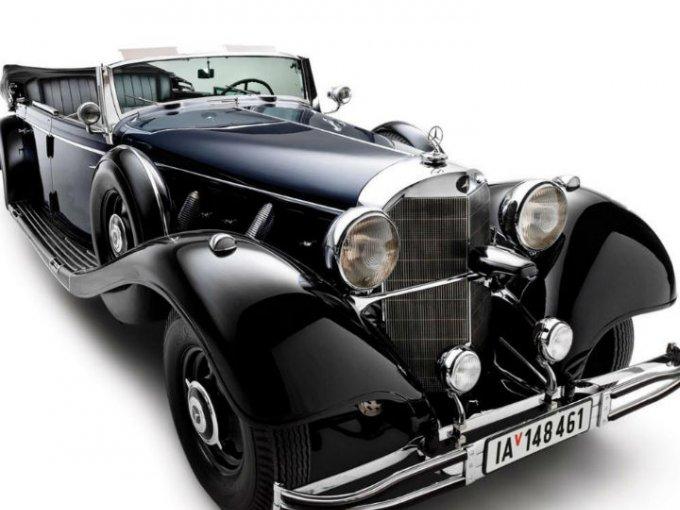 El Mercedes-Benz 770K Grosser Open Tourer 1939 que perteneció a Adolfo Hitler sera colocado bajo el martillo