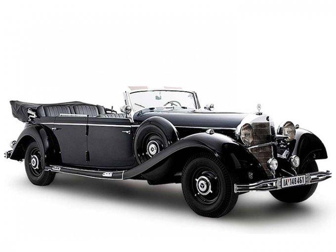 Solo ocho 'Súper Mercedes' fueron fabricados por la automotriz alemana. Foto: Worldwide Auctioners