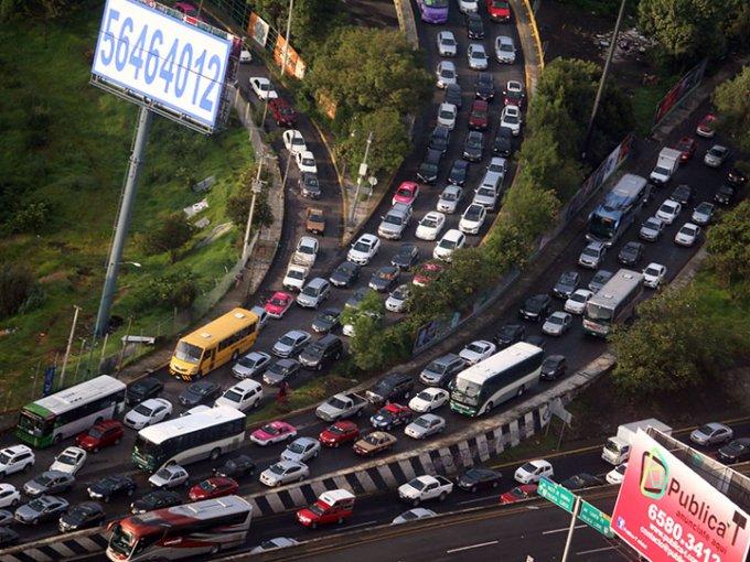 Sí, ésta es la Ciudad de México. Foto: Cuartoscuro