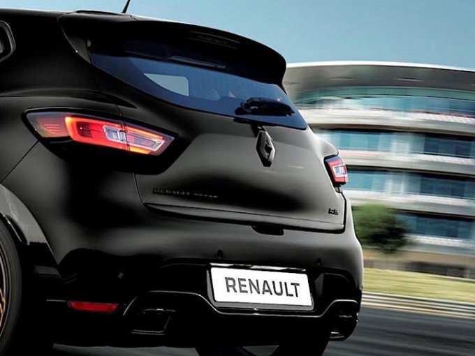 Renault honrará y recordará sus cuarenta años de participación en la Fórmula Uno con un modelo de edición limitada, el Clío RS 18. Foto: Renault