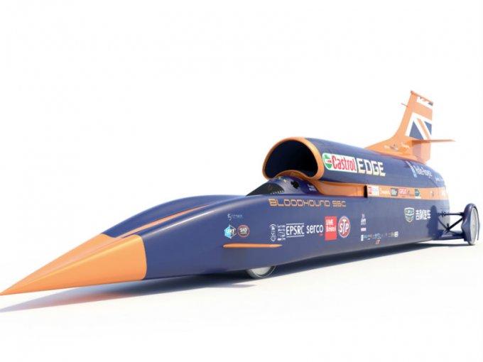 El BLOODHOUND SSC llegará hasta los 1.000 seiscientos km/h para pasar a la historia cual el coche más veloz del mundillo