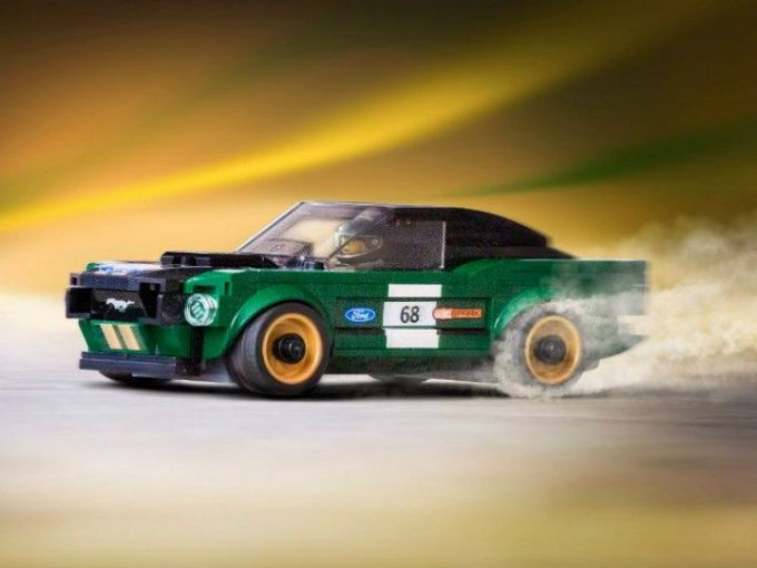¡Mustang Fastback vuelve en constituye de Legos!