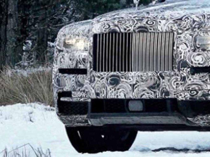 Rolls Royce ha creado su diamante más grande: la nueva Cullinan. Foto: Especial