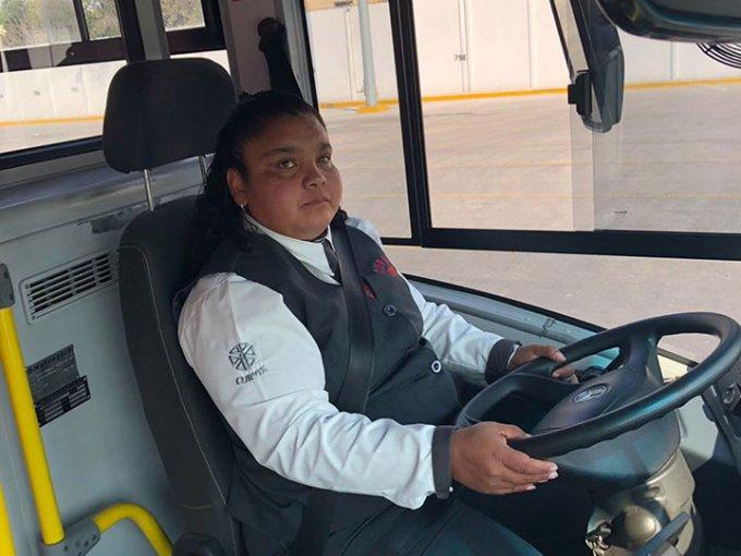 No hay imposible para nosotras, afirma conductora de Metrobús