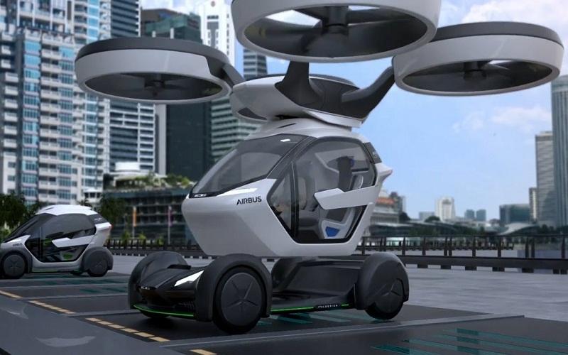 Pop.Up Next, nuevo concepto de movilidad horizontal y vertical totalmente eléctrico
