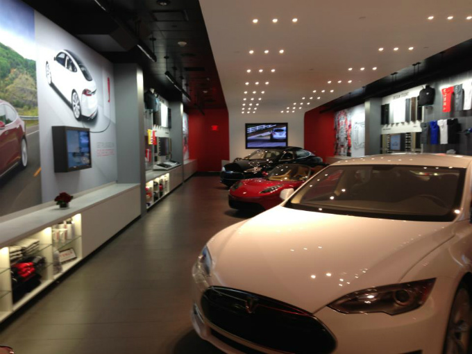 Tesla Motors Concesionario Virtual Atraccion360