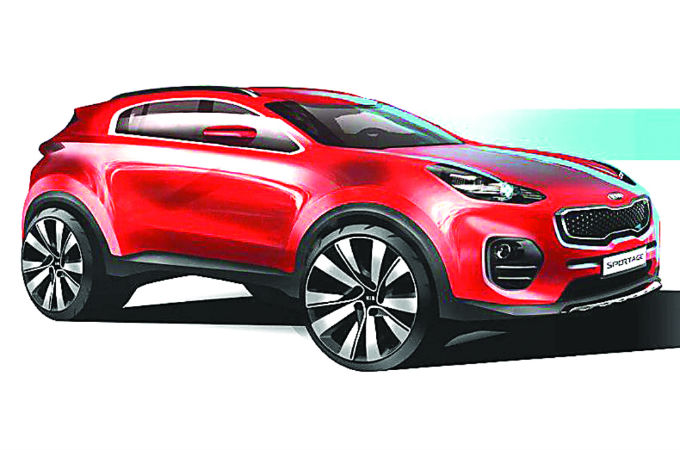 This is the new generation of KIA Sportage 2016 - tinoshare.com