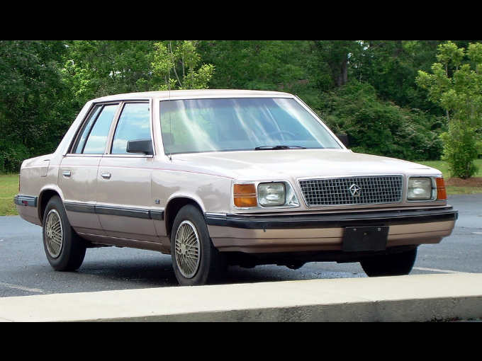 Plymouth Reliant K Le on 1980 Chevy Magnum