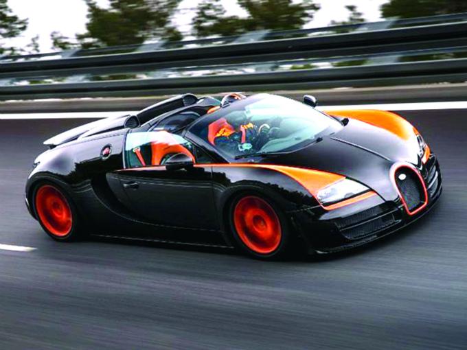 bugatti veyron impone record velocidad atraccion360. Black Bedroom Furniture Sets. Home Design Ideas