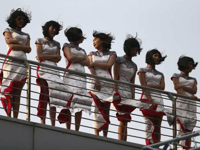 Edecanes Gran Premio De China Atraccion360