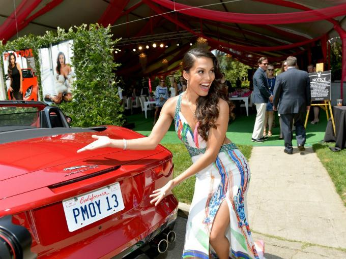 Jaguar F-Type Meets 2013s Playboy Playmate, Raquel
