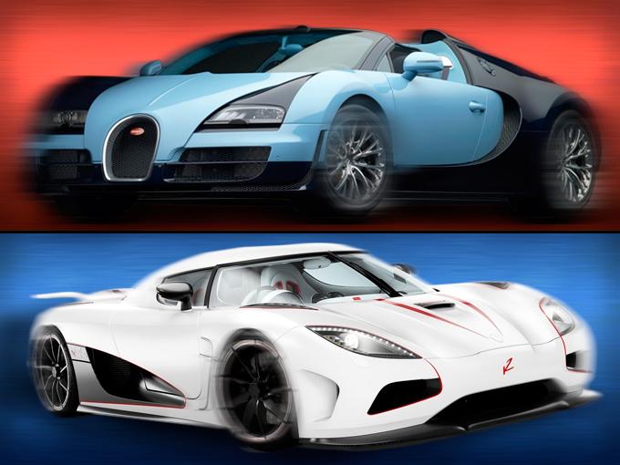 bugatti veyron vitesse vs koenigsegg agera atraccion360. Black Bedroom Furniture Sets. Home Design Ideas