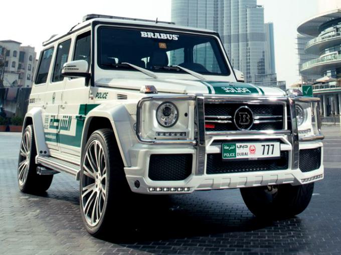G Wagon Patrulla Dubai Atraccion360